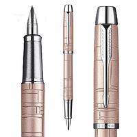 Перьевая ручка Parker розовый металлик, хром