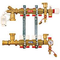 """Сборный узел для системы отопления в полу 1"""" X18 /3 Giacomini"""