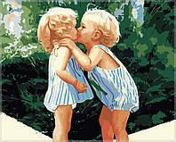 Раскраска по номерам MENGLEI Детская любовь