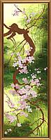 Набор для вышивки бисером Цветущая сакура НД 6054