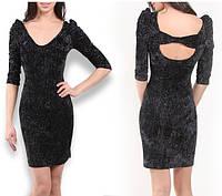 Нарядное черное платье Jennyfer