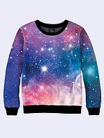Свитшот женский модный с изображением Вселенной