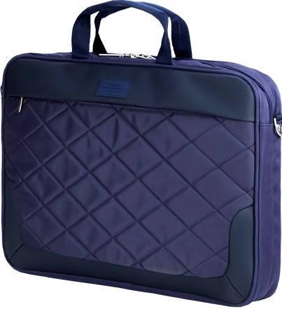 """Удобная мужская сумка для ноутбука 16"""" Sumdex  Passage PON-322BR коричневый PON-322NV синий"""