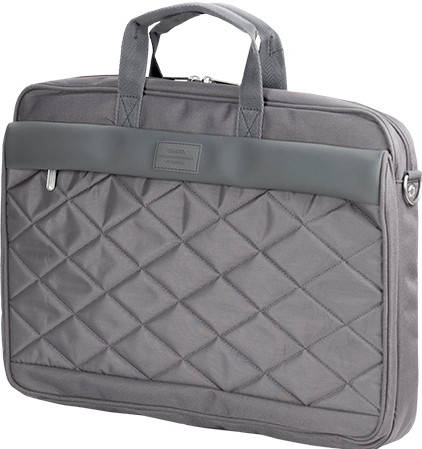 "Прочная мужская сумка для ноутбука 15,6"" Sumdex  Passage  PON-327BK черный PON-327GY серый"