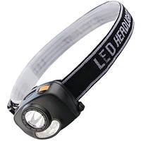 Налобный фонарь с датчиком движения Police BL-6520G