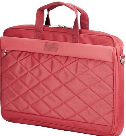 """Женская качественная сумка для ноутбука 15,6"""" Sumdex  Passage  PON-327RD красный PON-327VT фиолетовый"""