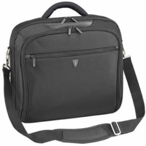 """Мужская вместительная сумка для ноутбука 16"""" Sumdex Impulse PON-351BK черный"""