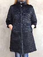Жилет-пальто из меха нутрии