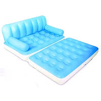 Надувной диван 5 в1 Bestway голубой 75039, голубой