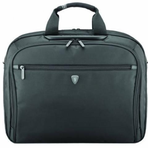 """Мужская качественная сумка для ноутбука 16"""" Sumdex Impulse PON-352BK черный"""