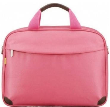 """Яркая женская сумка для ноутбука 13,3"""" Sumdex Impulse Fashion Place  PON-451PK розовый"""