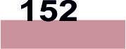 Хлопковые мулине для вышивания (Франция) 152 Розовых ракушек, средне светлый (ср. св.)