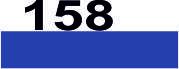 Мулине из хлопка для вышивания крестиком (Франция) 158 Васильковый, кобальтовый, ср. оч. т.