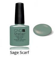 Kол.Весна 2014 Open Road Shellac Sage Scarf Color 7,3 мл (темный мятный)