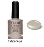 Гель-лак Shellac Cityscape 7,3 ml 533 (кремовый мягкий серый, эмаль)
