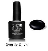 Гель-лак Shellac Overtly Onyx 7,3 ml 549 (темно-серый)