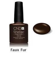 Гель-лак Shellac Faux Fur7,3 ml 546 (коричневый, эмаль)