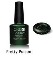 Гель-лак Shellac Pretty Poison 7,3 ml 547 (тёмно-зеленый)