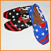 Мокасины для детей | Текстильные туфли на лето