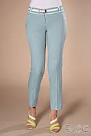 """Летние женские брюки """"Лея"""" . Ткань-жакард."""