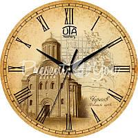 Настенные часы History 'Чернигов. Пятницкая церковь' d=330mm h=27мм (в часах нет секундной стрелки)