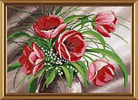 Набор для вышивки бисером Весенний букет НС 3001