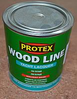 Лак яхтный полиуретановый (полуматовый) Wood Line Yacht Lacquer  Protex 0,7 л