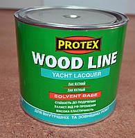 Лак яхтный полиуретановый (полуматовый) Wood Line Yacht Lacquer  Protex   2,1 л