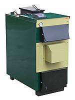 Котел твердотопливный ТИВЕР-КТ 30 Е кВт (с ветилятором и контролером)
