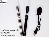 Электронные сигареты eVod 1100 mAh  варивольт+Evod BCC