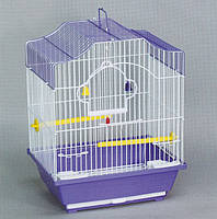 Клетка для мелких птиц и попугаев 30*23*40см. ємаль