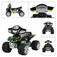 Квадроцикл ZP 5118-5 черно-зеленый 110х75х78см