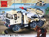 822 «Машина с ракетной установкой» Конструктор BRICK 310 деталей.
