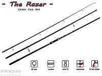 Карповое удилище из карбона The Razer, 360/3 3,0 lb