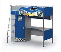 Кровать+стол Dr-16-2 (матрас 90*200 см) мебель детская.