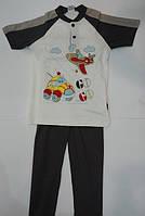 Пижама детская для мальчиков Машинка