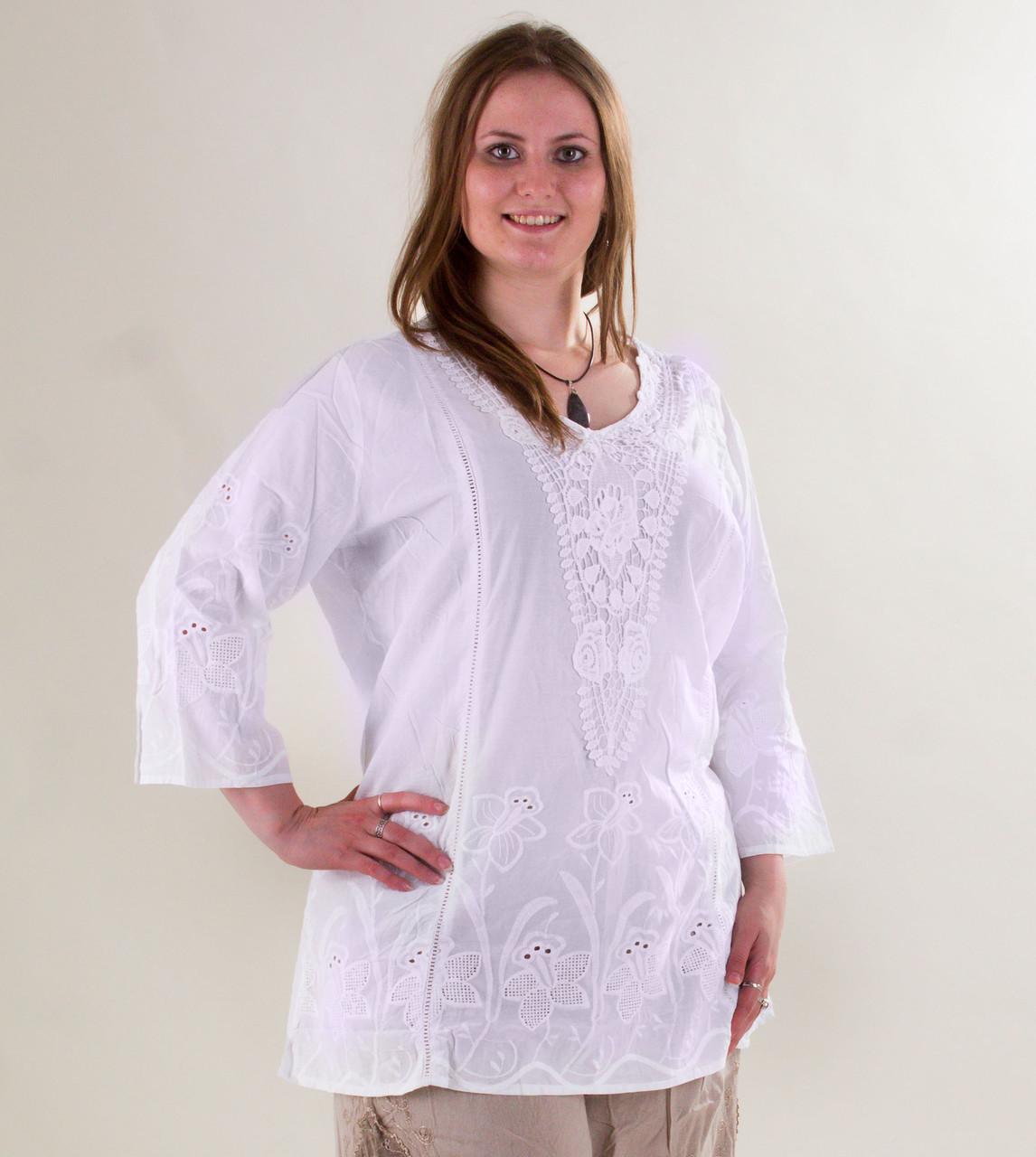 Туники Блузы Больших Размеров
