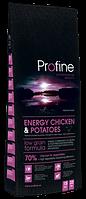 Сухой корм Профайн (Profine) для взрослых собак с повышенной физической нагрузкой курица 70% и картофель 15