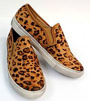 Женские слипоны Leopard!, фото 1