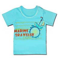 Детская футболка (фуфайка) для мальчика *Отдых*
