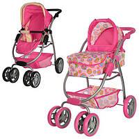 """Детская коляска-трансформер для кукол """"MELOGO"""" 4-В-1 9662"""