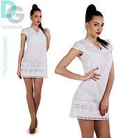 Платье Кимоно белое
