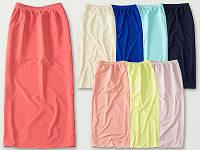 Длинная юбка на лето