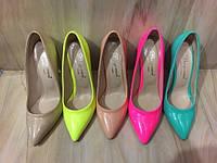 Туфли женские-лодочки в ассортименте