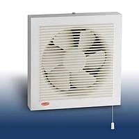 Осевой реверсивный оконный вентилятор с механическими жалюзи BPP 200