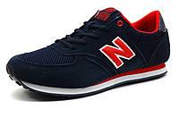 Кроссовки New Balance 420 мужские, комбинированные, темно-синие/ красные, фото 1