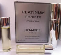 Egoïste Chanel Platinum М. Набор духов( 3шт по 15 ml)