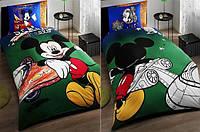 Детское постельное белье ТАС™  Mickey  Space Wheels