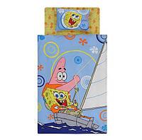 Детское постельное белье 1,5 ТАС™  Sponge Bob Boat