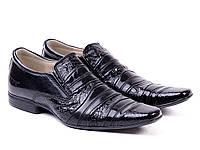 Лаковые мужские туфли ЕТОR